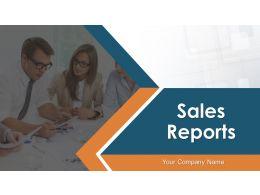 Sales Reports Powerpoint Presentation Slides