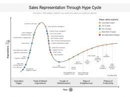 Sales Representation Through Hype Cycle