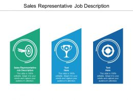 Sales Representative Job Description Ppt Powerpoint Presentation Icon Infographics Cpb
