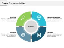 Sales Representative Ppt Powerpoint Presentation Styles Infographics Cpb