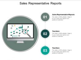 Sales Representative Reports Ppt Powerpoint Presentation Pictures Outline Cpb