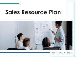 Sales Resource Plan Revenue Strategy Management Marketing Services
