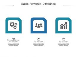Sales Revenue Difference Ppt Powerpoint Presentation Introduction Cpb