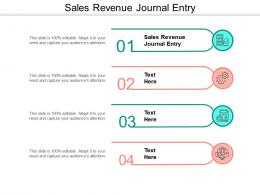 Sales Revenue Journal Entry Ppt Powerpoint Presentation Layouts Template Cpb