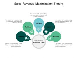 Sales Revenue Maximization Theory Ppt Powerpoint Presentation Gallery Outfit Cpb