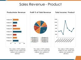 Sales Revenue Product Ppt Picture