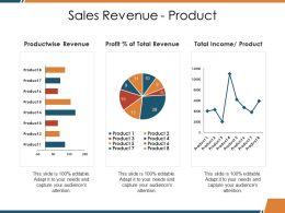 Sales Revenue Product Ppt Picture