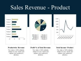 Sales Revenue Product Ppt Summary Graphics Pictures