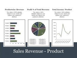 Sales Revenue Product Presentation Portfolio