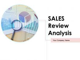 Sales Review Analysis Powerpoint Presentation Slides