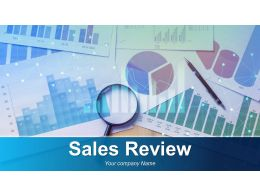 Sales Review Powerpoint Presentation Slides