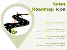 Sales Roadmap Icon