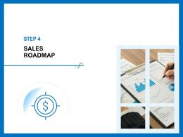 Sales Roadmap M398 Ppt Powerpoint Presentation Portfolio Mockup