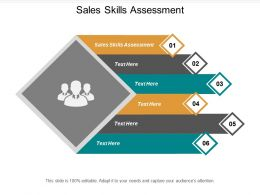 Sales Skills Assessment Ppt Powerpoint Presentation Infographics Outline Cpb