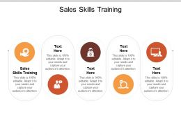 Sales Skills Training Ppt Powerpoint Presentation Icon Example Cpb