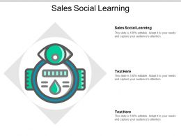 Sales Social Learning Ppt Powerpoint Presentation Gallery Outline Cpb