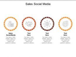 Sales Social Media Ppt Powerpoint Presentation Summary Demonstration Cpb