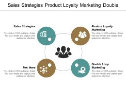 Sales Strategies Product Loyalty Marketing Double Loop Marketing Cpb