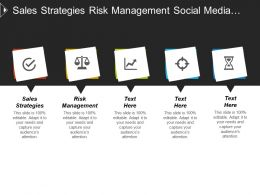 Sales Strategies Risk Management Social Media Marketing Strategy