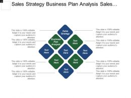 Sales Strategy Business Plan Analysis Sales Tracking Techniques