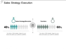 Sales Strategy Execution Ppt Powerpoint Presentation File Layout Ideas Cpb