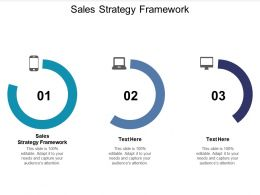 Sales Strategy Framework Ppt Powerpoint Presentation Deck Cpb