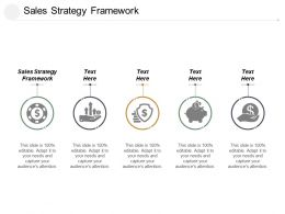 Sales Strategy Framework Ppt Powerpoint Presentation File Format Ideas Cpb