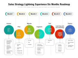Sales Strategy Lightning Experience Six Months Roadmap