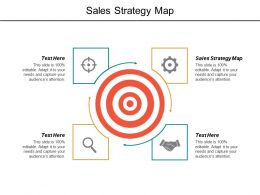 Sales Strategy Map Ppt Powerpoint Presentation File Master Slide Cpb