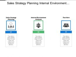 Sales Strategy Planning Internal Environment Analysis Product Strategy Development Cpb