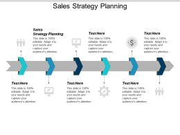 Sales Strategy Planning Ppt Powerpoint Presentation Icon Aids Cpb