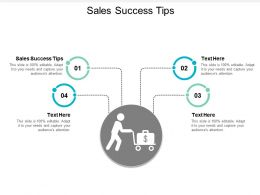 Sales Success Tips Ppt Powerpoint Presentation Model Smartart Cpb