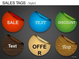 Sales Tags Style 1 Powerpoint Presentation Slides DB