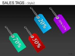 Sales Tags Style 2 Powerpoint Presentation Slides DB