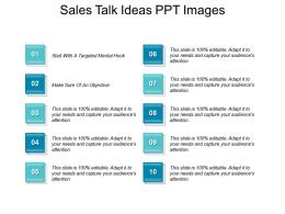 Sales Talk Ideas Ppt Images