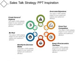 Sales Talk Strategy Ppt Inspiration