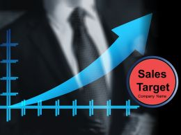Sales Target Powerpoint Presentation Slides