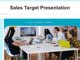 Sales Target Presentation Performance Strategy Dashboard Executive Historical Targeted