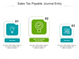 Sales Tax Payable Journal Entry Ppt Powerpoint Presentation Ideas Graphics Download Cpb