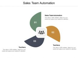 Sales Team Automation Ppt Powerpoint Presentation Gallery Maker Cpb