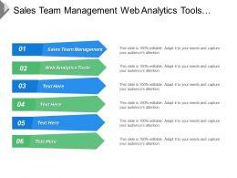 Sales Team Management Web Analytics Tools Negotiation Skills