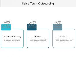 Sales Team Outsourcing Ppt Powerpoint Presentation Gallery Themes Cpb
