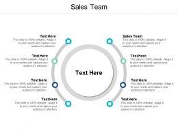 Sales Team Ppt Powerpoint Presentation Ideas Skills Cpb