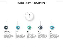 Sales Team Recruitment Ppt Powerpoint Presentation Gallery Smartart Cpb