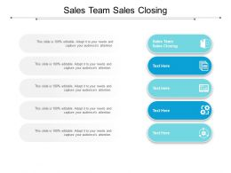 Sales Team Sales Closing Ppt Powerpoint Presentation Ideas Aids Cpb