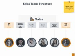 Sales Team Structure Marketing Ppt Powerpoint Presentation Outline Visual Aids