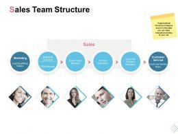 Sales Team Structure Marketing Ppt Powerpoint Presentation Slides