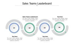 Sales Teams Leaderboard Ppt Powerpoint Presentation Portfolio Tips Cpb
