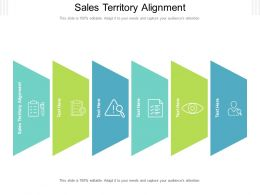 Sales Territory Alignment Ppt Powerpoint Presentation Ideas Elements Cpb