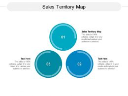 Sales Territory Map Ppt Powerpoint Presentation Icon Tips Cpb